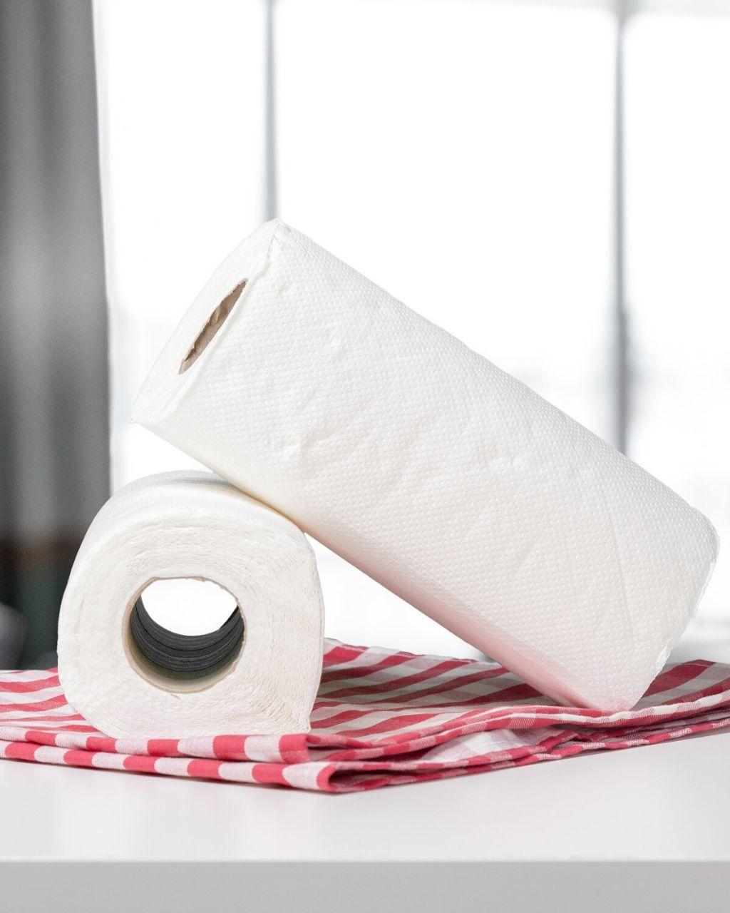 6 zastosowań ręczników papierowych w domu